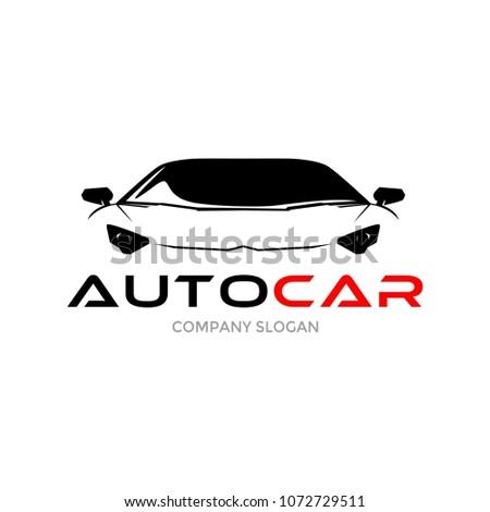 auto sport car logo design