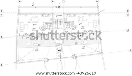 Free autocad house floor plans