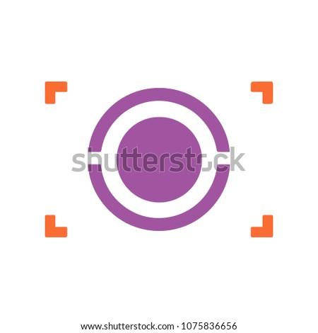 autofocus icon   digital photo