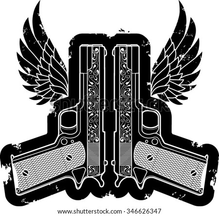 automatic pistols with