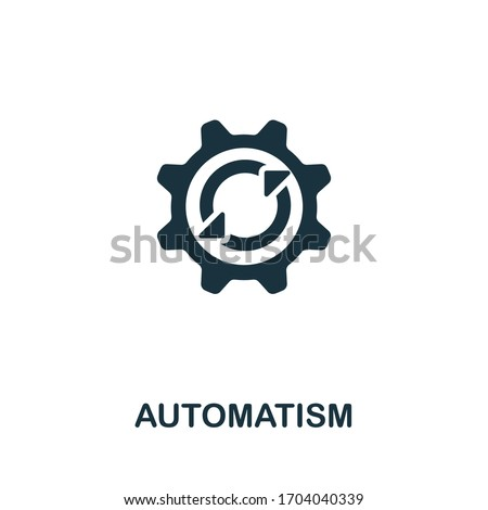 Automatism icon from personal productivity collection. Simple line Automatism icon for templates, web design and infographics Сток-фото ©