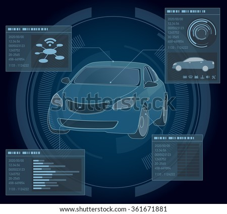 automobile abstract interface
