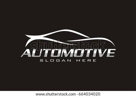 automotive car line logo