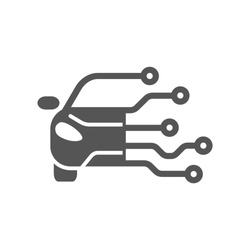 Automotive diagnostic repair icon. Vector illustration on white background