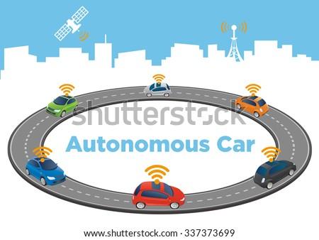 autonomous car image