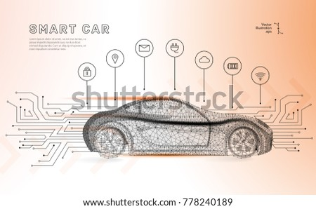 autonomous car vehicle with