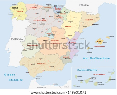 Таррагона на карте испании