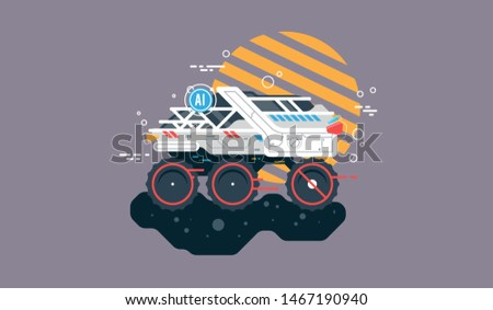Autonomous driverless vehicles navigation systems, Military unmanned all-terrain vehicle.