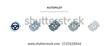 autopilot icon in different