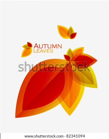 autumn abstract vector