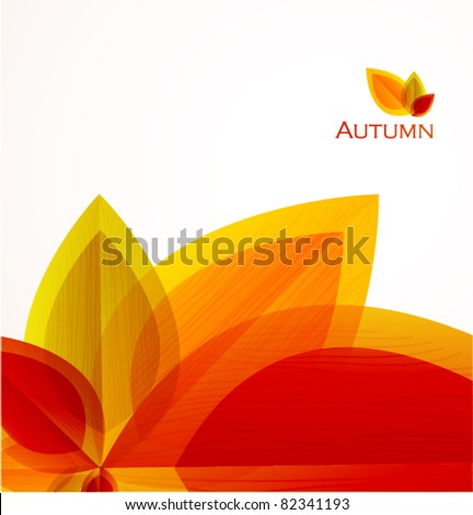 autumn abstract vector