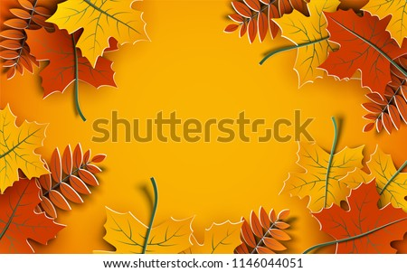 stock-vector-autumn-background-tree-paper-leaves-yellow-backdrop-design-for-fall-season-sale-banner-poster
