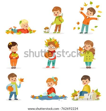 autumn children s outdoor