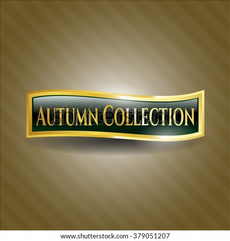 Autumn Collection gold badge