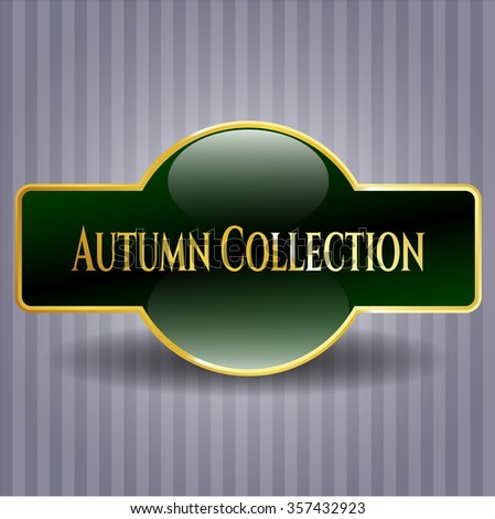 Autumn Collection golden badge