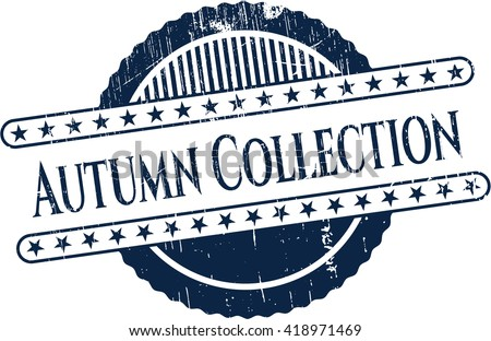 Autumn Collection rubber grunge texture seal