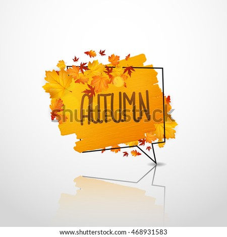 autumn design artistic dry