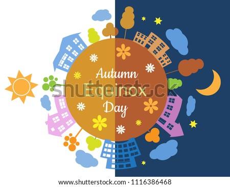 autumn equinox half day half
