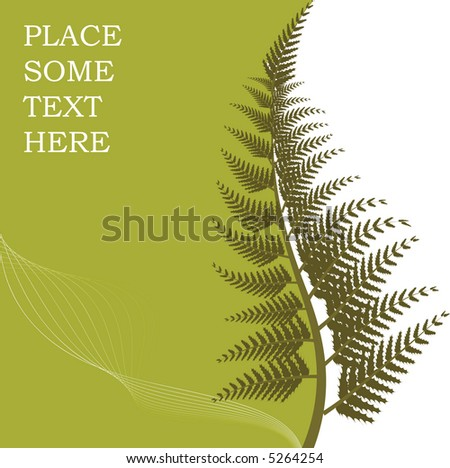 Autumn floral background with place for your text