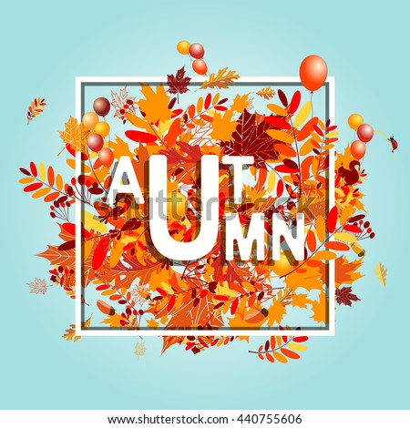 stock-vector-autumn-foliage-banner-for-your-design