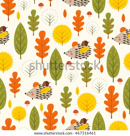 autumn forest background
