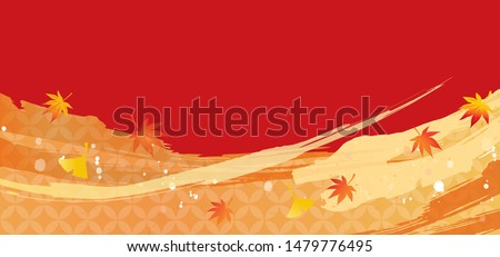 autumn image illustration of