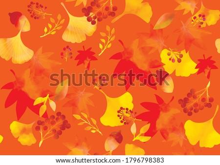 autumn image illustration of