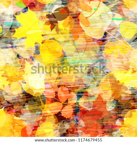 autumn mood fallen leaves