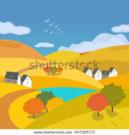 autumn outdoors landscape