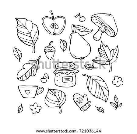 Harvest Pattern Set Download Free Vector Art Stock Graphics Images