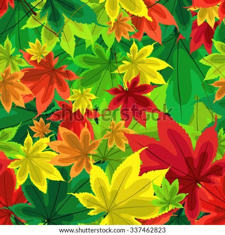 autumn pattern pattern of