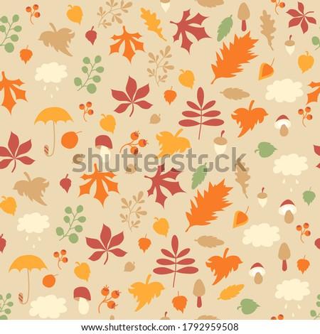 autumn pattern seamless