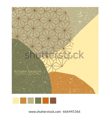 autumn poster background banner