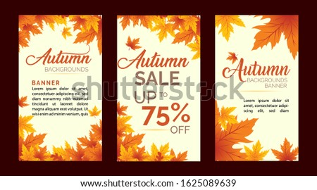 Autumn Sale Background, Autumn Sale, Autumn Background, Autumn Banner Backgrounds