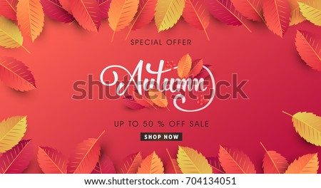 stock-vector-autumn-sale-background-layout-decorate-with-leaves-for-shopping-sale-or-promo-poster-and-frame