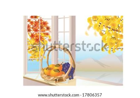 autumn sketch   vector