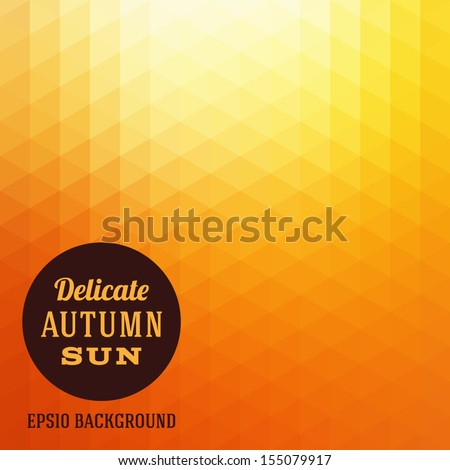 stock-vector-autumn-sun-triangle-vector-background
