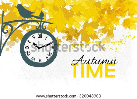 autumn timeautumn vector