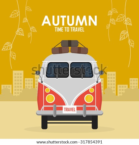 autumn time family travel and