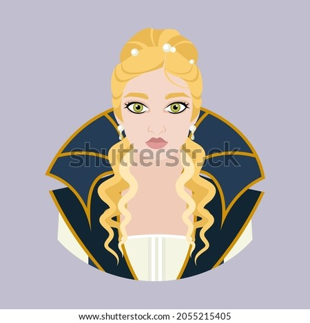 avatar of a medieval blonde