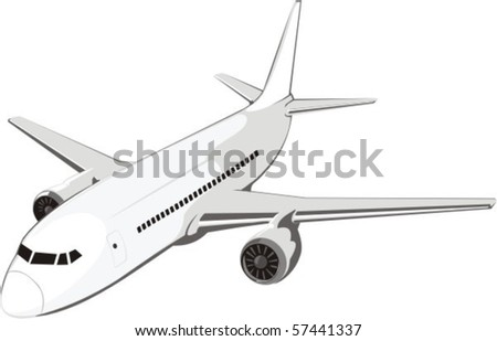 average passenger plane for internal airway