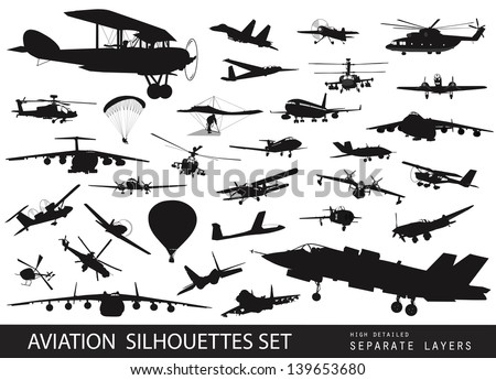 aviation vectors vintage and