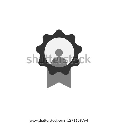 award, employee icon. Element of marketing icon for mobile concept and web apps. Detailed award, employee can be used for web and mobile