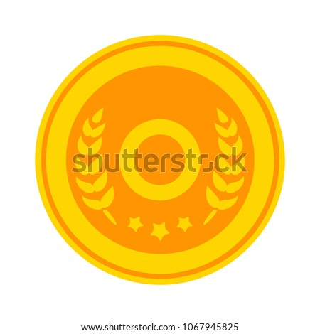 award icon. winner Prize - first reward - success prize