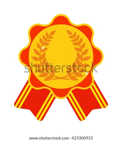 award ribbon medal first place