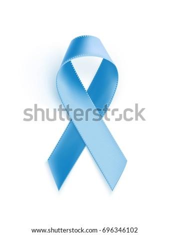 awareness blue ribbon