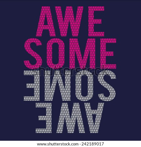 awesome message typography  t