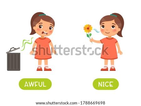 awful and nice antonyms word