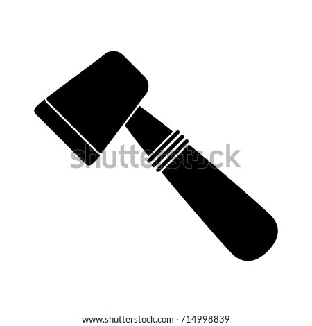 axe silhouette icon