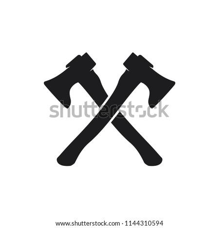 axe vector icon
